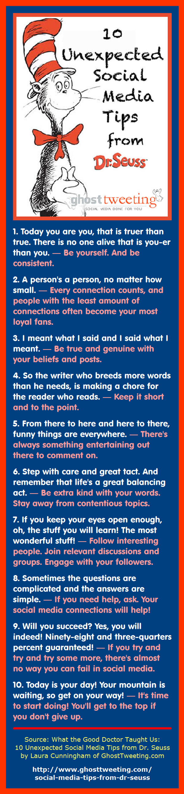 10 Social Media Tips from Dr. Seuss