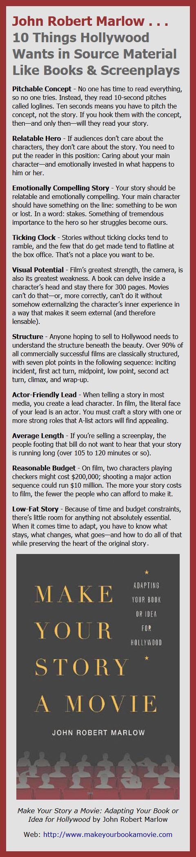 Make Your Book a Movie