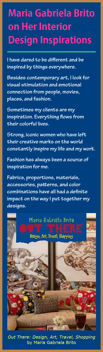 Maria Gabriela Brito On Her Interior Design Inspirations Infographic A Day