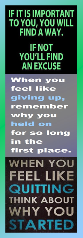 Motivational Bookmark: You Will Find a Way | Infographic A Day